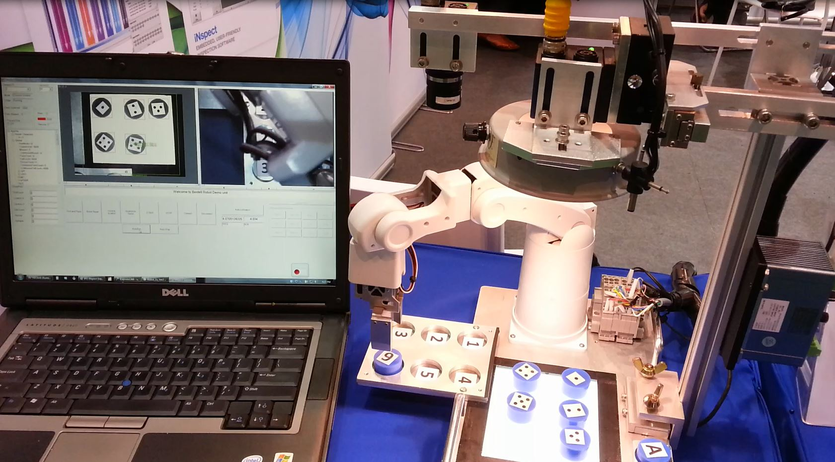Parts Positioning and Robotic guidance